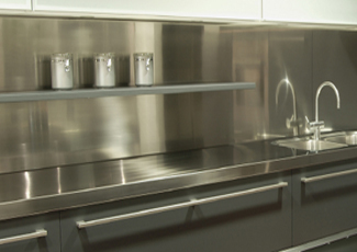 Woodfield, SC Stainless Steel Countertop