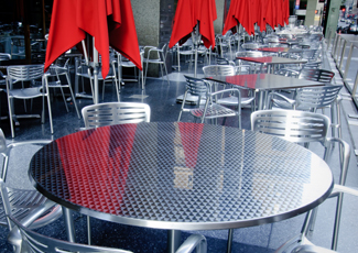 South Congaree, SC Stainless Steel Table