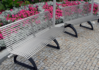 Stainless Steel Benches - Pine Ridge, SC